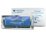 The Barbitusol Identification Pen Test from Mistral is an individual ampoule-based, hand-held colorimetric drug detection and drug identification test for barbiturates.