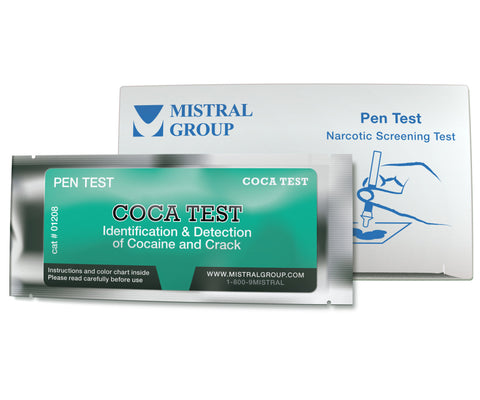 Coca-Test is an application based field test kit for the detection and identification of Cocaine, Crack, and PCP.