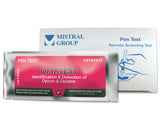 The Opiate Identification Pen Test from Mistral is an individual ampoule-based, hand-held colorimetric drug detection and drug identification test for opiates.