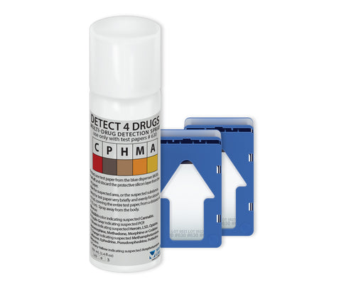 Detect4Drugs (D4D) Bundle - Drug Detection Aerosol