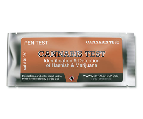 Cannabis Test is an application based field test kit for the detection and identification of marijuana, hashish, and related drugs.