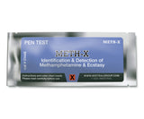 The Meth-X Identification Pen Test from Mistral is an individual ampoule-based, hand-held colorimetric drug detection and drug identification test for meth and ecstasy.