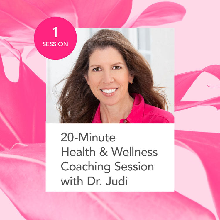 Health & Wellness Coaching Session with Dr. Judi