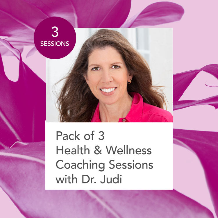 Health and Wellness Coaching: 3-Session Package with Dr. Judi
