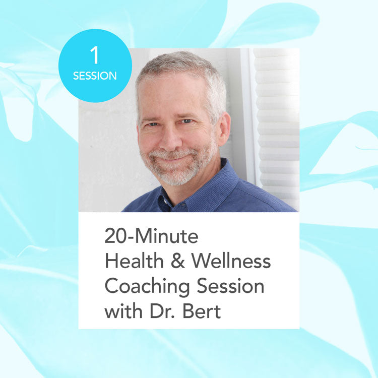 Health & Wellness Coaching Session with Dr. Bert