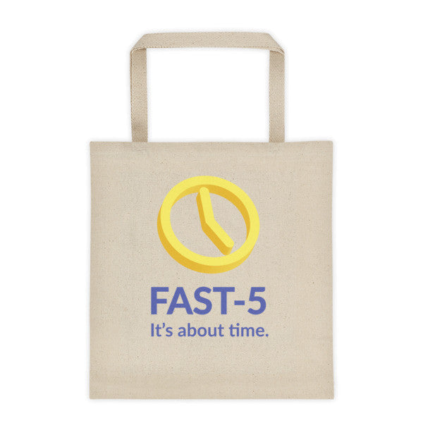 Fast-5 It's About Time Tote Bag