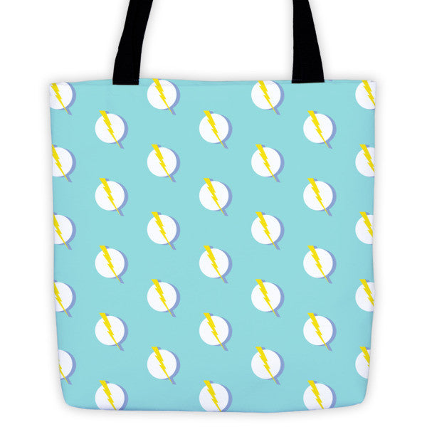 Power Graphic Tote Bag