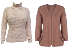 A Valentine's treat for ladies knitwear