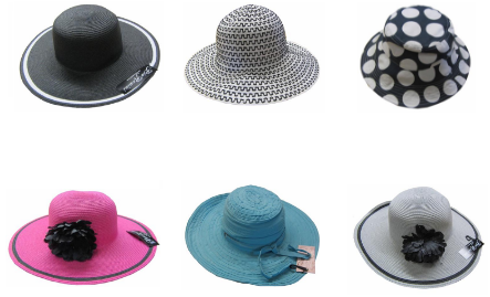 Hats off to wholesale clothing this summer