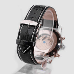 Luxury Tourbillon Leather Watch