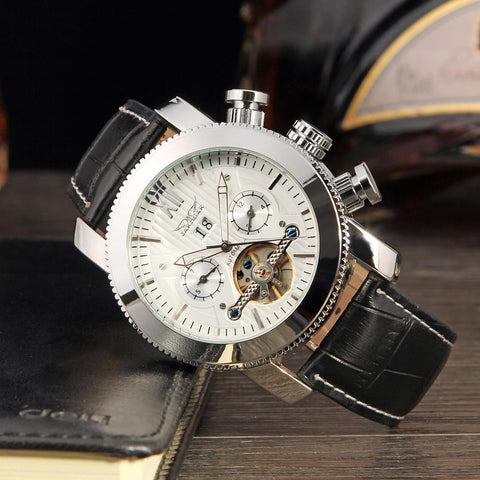 Men's Classic Automatic Mechanical Tourbillon Watch