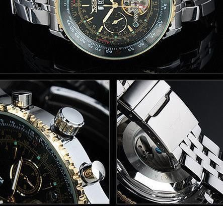 Men's Classy Automatic Tourbillon Watch