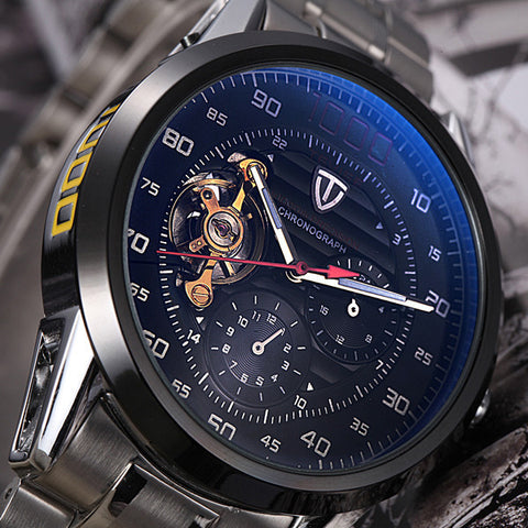 Men's Tourbillon Chrono Watch