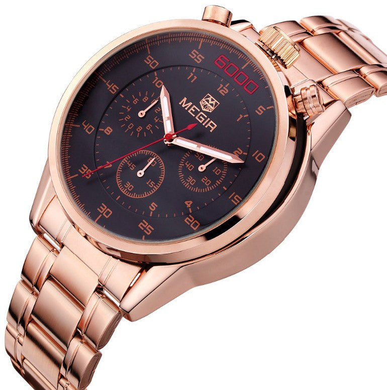 """SERGEANT COLT""  MENS CHRONO WATCH"