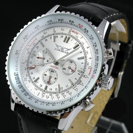"""SHINING GLORY"" Men's Classic Automatic Calendar Watch"