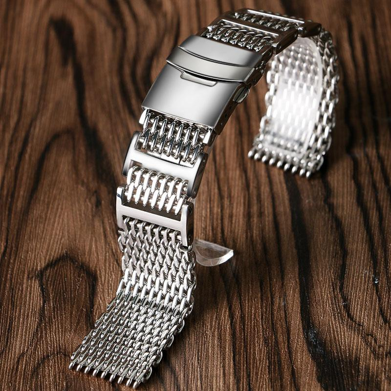 Strap - CHAIN MAIL - UPGRADED STEEL WATCHBAND