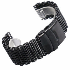 Strap - MESH BRACELET - Replacement Metal Band In Three Colors