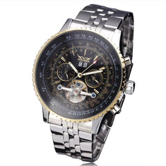 """THE GATSBY"" Men's Classy Automatic  Watch With Full Calendar - 1 Week US Std. Shipping!"