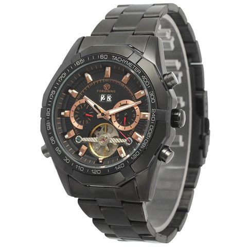 """THE LONE RANGER""  Masculine Automatic Tourbillon Watch"