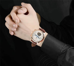 """THE MARS JOURNEY""  Luxury Automatic Watch With Full Calendar"