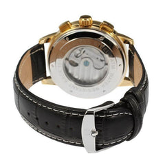 """THE NORSEMAN BOW"" Men's Classic Automatic Tourbillon Dress Watch"