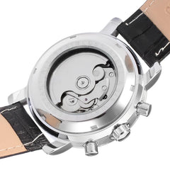 """THE OCEANA MOON"" Moon Phase Men's Watch Luxury Automatic Full Calendar"