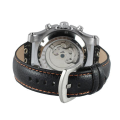 """THE OVERLAND TRAIL""  Genuine Leather Sports Men's Automatic Watch With Full Calendar"