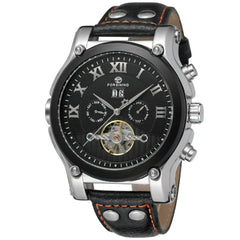 """THE OVERLAND TRAIL""  Men's Automatic Calendar Watch"