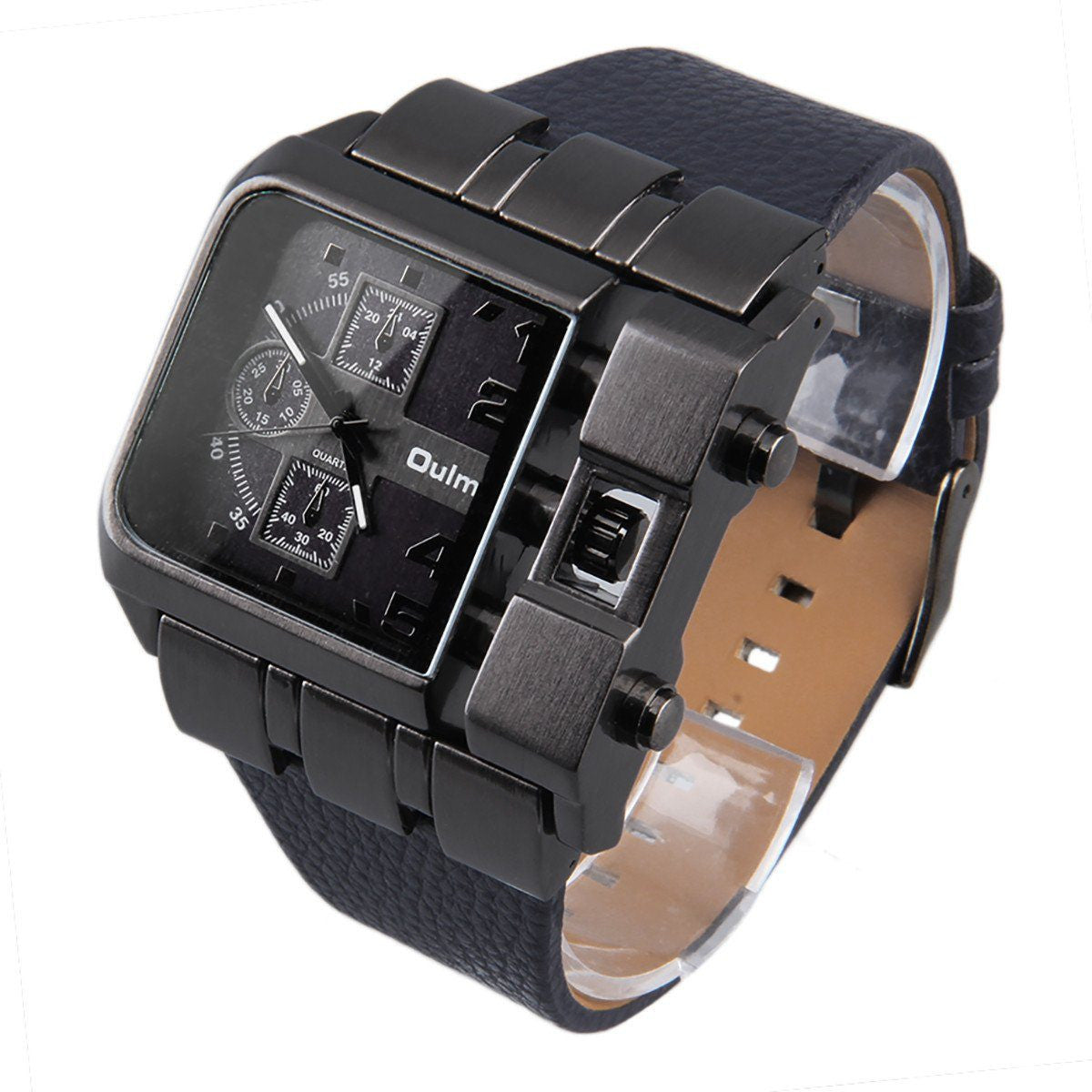 """THE RAIDER""  Square Dial Wristwatch"