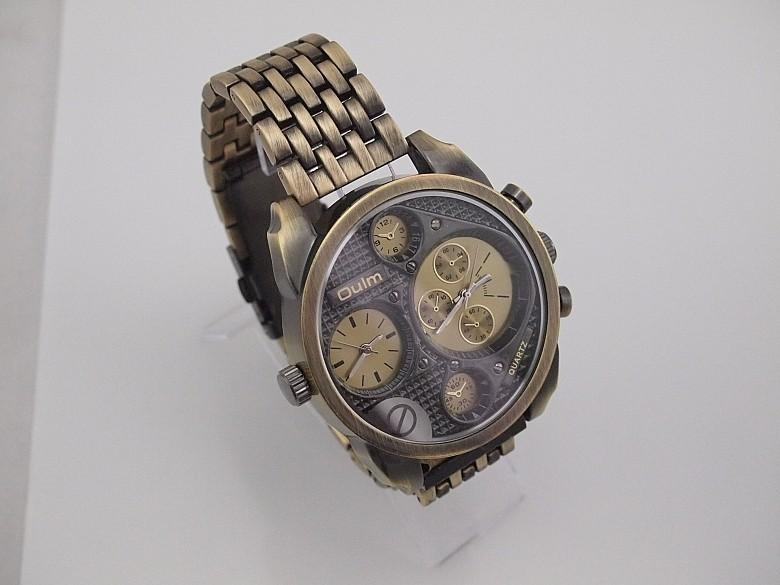 """THE TRIDENT""   Men's Oversized Multi Wristwatch"