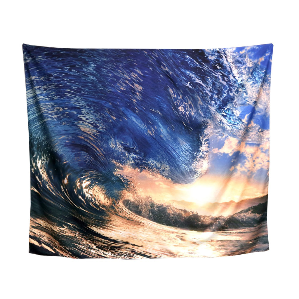 Tapestry - blue wave barrel