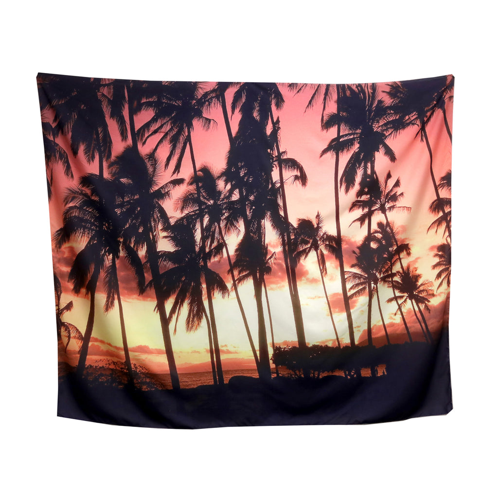 Tapestry - palm sunset