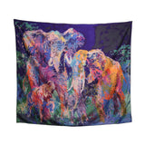 Tapestry - Painted Elephant