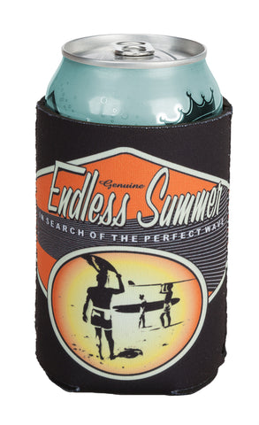 Endless Summer Can Koozie Pink/Orange