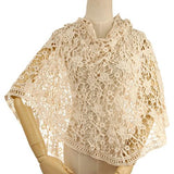 willow - lace poncho