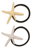 garbo- starfish hair tie