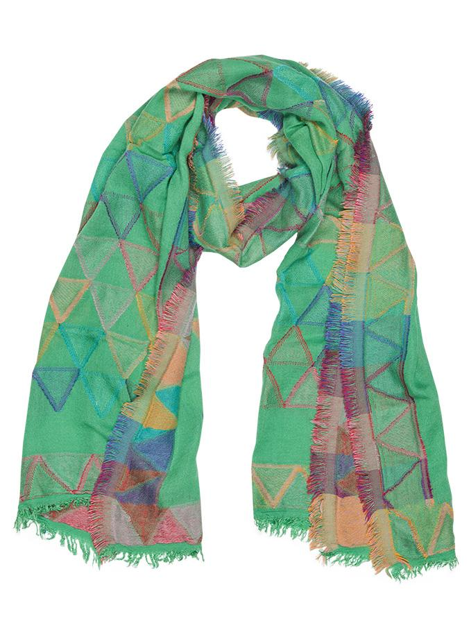 landon scarf - light green
