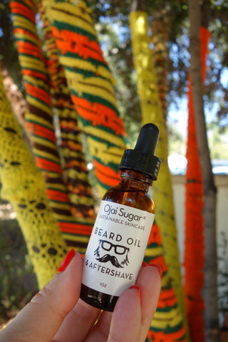 Beard & Aftershave Oil:  Forest Musk Blend