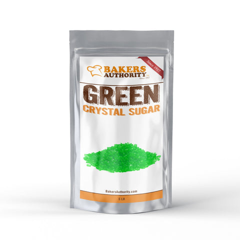 5LB Green Crystal Sugar