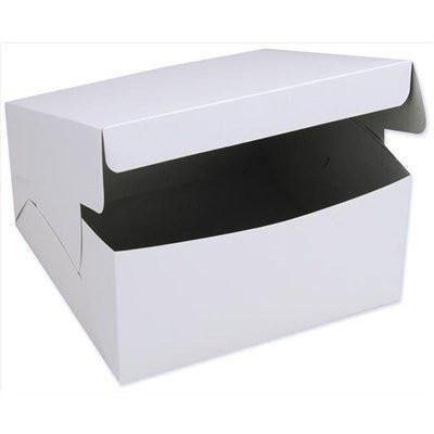 "Cake Box - One Piece 9 x 9"" / 3"" - 250 Boxes"