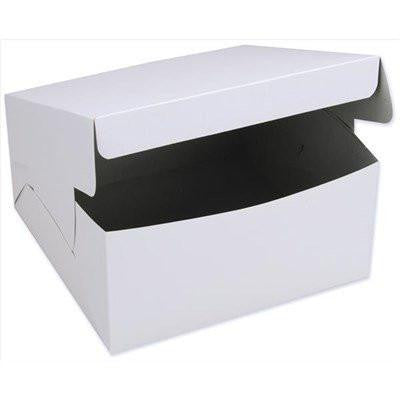 "Cake Box - One Piece 10  x 10"" / 2.5"" - 250 Boxes"