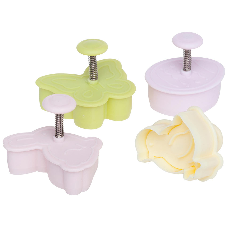 4 Piece Easter Plunger Cutter Set