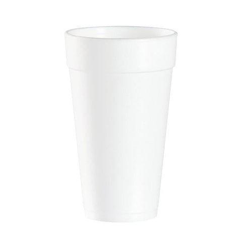 Foam J-Cup - 20 oz cup that requires 16 oz lid - 500 Qty