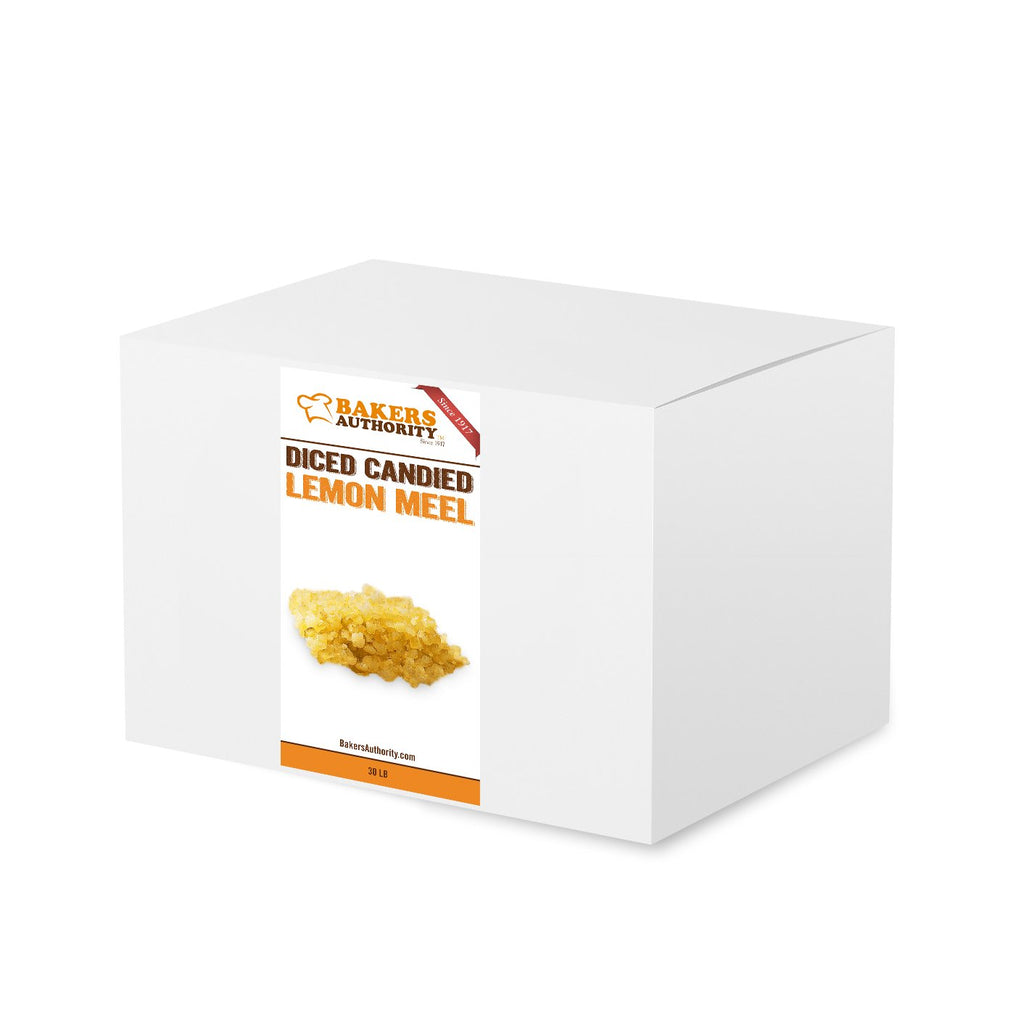 Candied Diced Lemon Peel