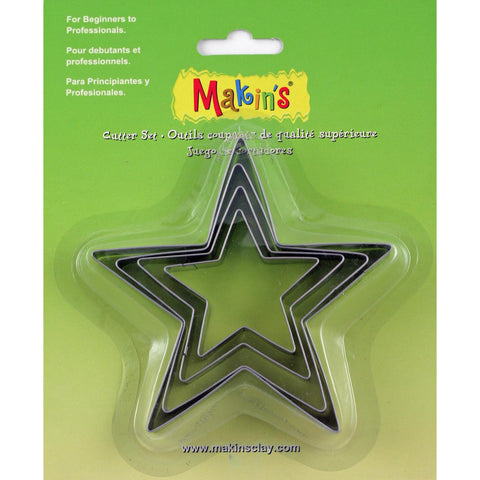 4 Piece Cutter Set - Star