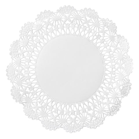 Round Lace Doily 4 inch 1000 ct
