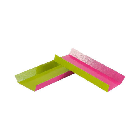 Folding Eclair Board - 200 Qty (Pink/Green)