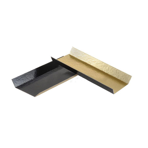 Folding Eclair Board - 200 Qty (Black/Gold)