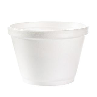 Foam J-Cup - 6 oz cup - 1000 Qty