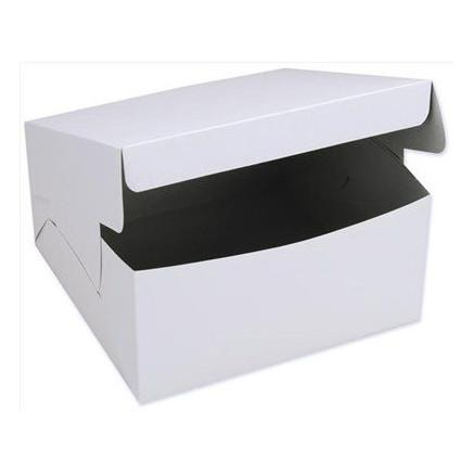 "Rectangular Cake Box 8 x 4 x 4"" - 250"